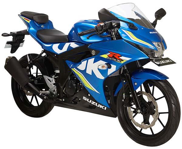 Suzuki GSX-R150 Metallic Triton Blue