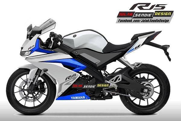 Render Yamaha R15 2017 Julak Sendie