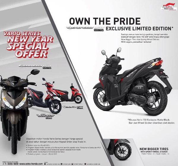 Honda Vario 150 Exclusive Limited Edition