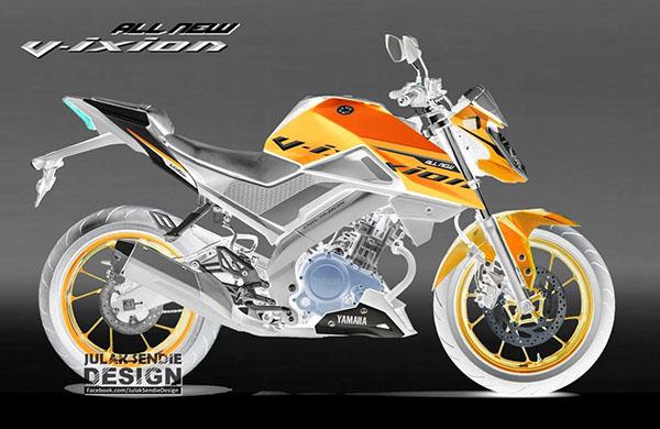 Ilustrasi Design All New Vixion 155 VVA