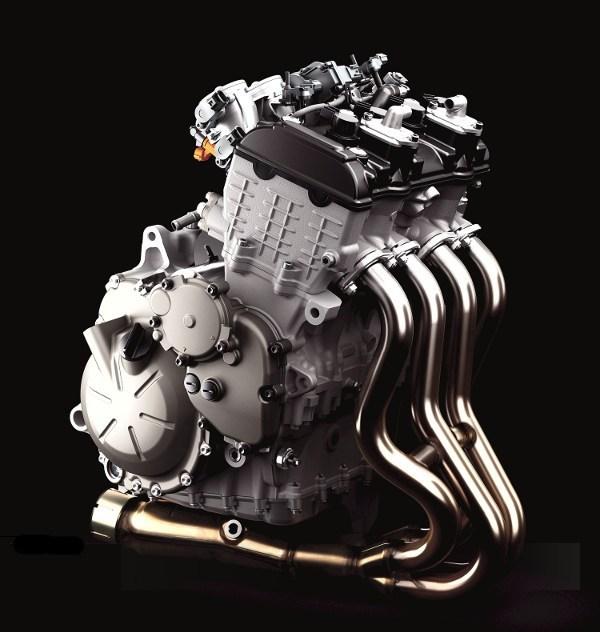 Mesin Kawasaki ZX6R 4 Silinder