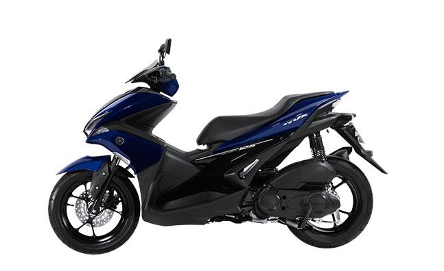Aerox 125 VVA warna biru