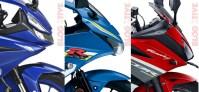 All New R15, GSX-R150 dan All New CBR150R