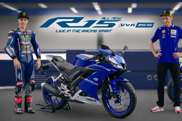 Iklan TVC All New R15 Vinales dan Rossi