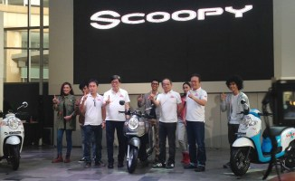 Launching All New Scoopy 2017