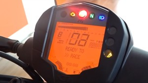 Speedometer Digital KTM Duke 250 2017