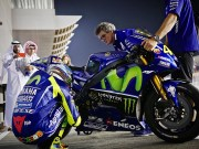 Valentino Rossi di Tes Day 1 Qatar MotoGP 2017