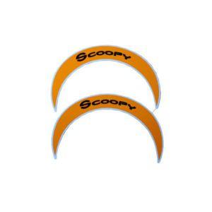 Aksesoris Sticker Back Mirror All New Scoopy Sporty White Harga 32 ribu