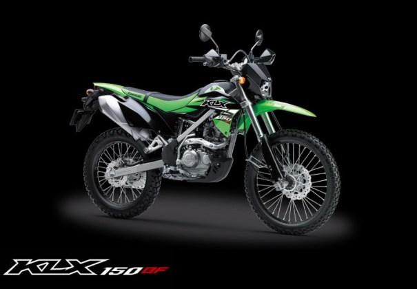 Kawasaki KLX 150BF Special Edition warna Hijau