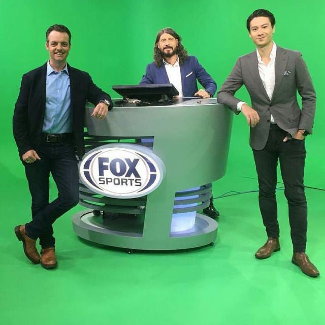 Matteo Guerinoni siaran di FOX Sports