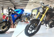 Modifikasi GSX Cafe Racer dan Street Fighter
