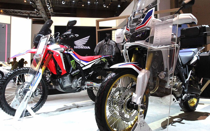 BigBike Rally Honda CRF1000L dan CRF250RALLY