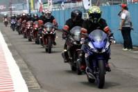 Konsumen All New R15 di Victory Lap ARRC 2017 Sentul
