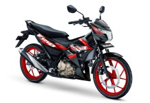 All New Satria F150 Warna Titan Black Red CW Gambar HD