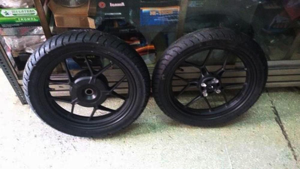 Ukuran Ban Dan Velg Honda Vario 110 125 Dan 150 Serta
