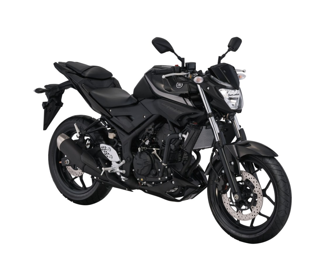 Warna Yamaha MT-25 Black Metalic