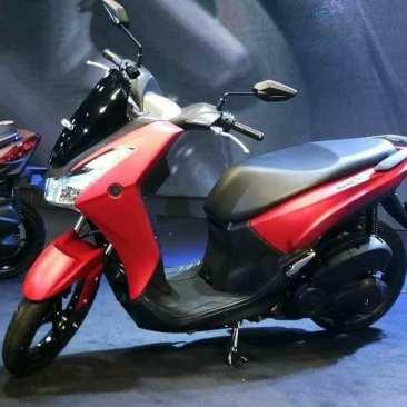 Yamaha Lexi 125 Red Matte