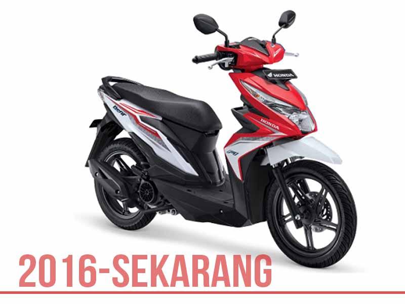 Honda BeAT tahun 2016