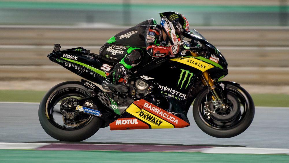 Johann Zarco tim Yamaha Tech3 di Qatar 2017