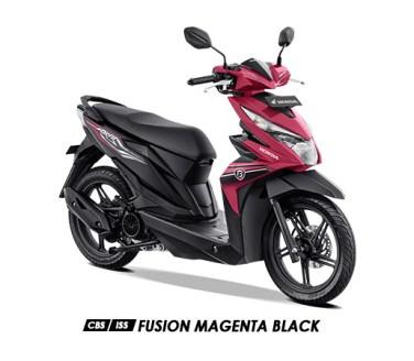Warna BeAT 2019 CBS ISS Pink Fusion Magenta Black