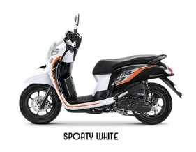 Warna Scoopy 2019 Sporty Putih