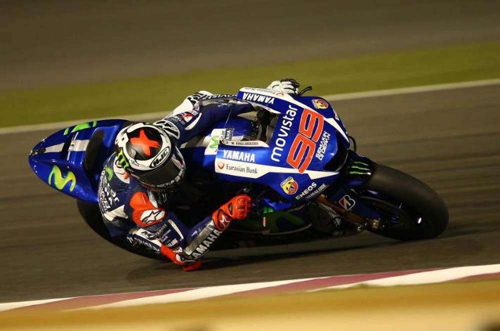 Lorenzo punya rekor baik di MotoGP Qatar