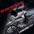 Honda Vario 150 facelift 16 April