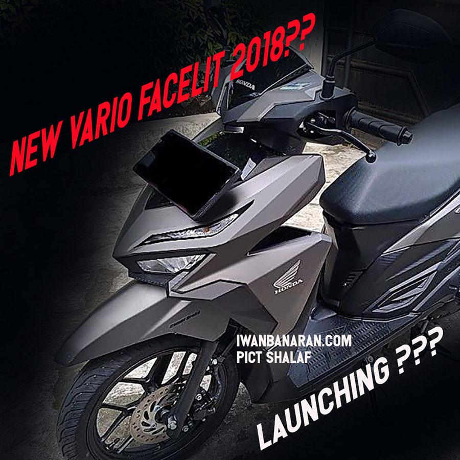 Honda Vario 150 facelift 16 April