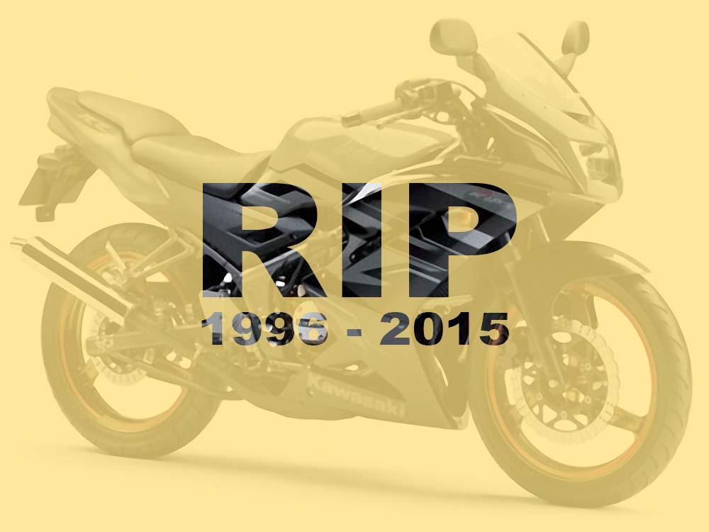Kawasaki Ninja 150 RR di suntik mati