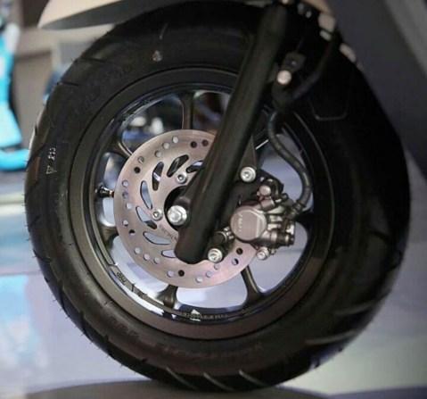 Ukuran Ban dan Velg depan Honda Scoopy baru