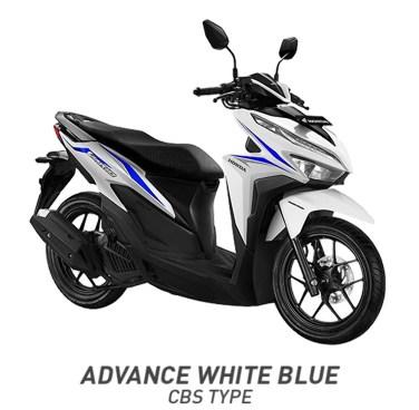 Warna Vario 125 Putih Biru Glossy