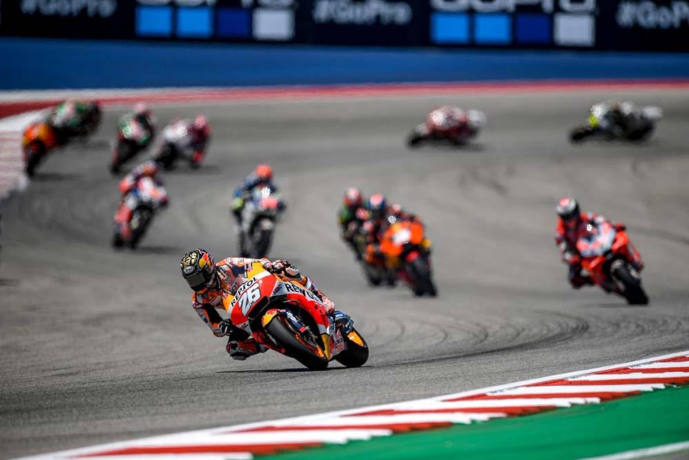Dani Pedrosa pimpin balapan di MotoGP Jerez