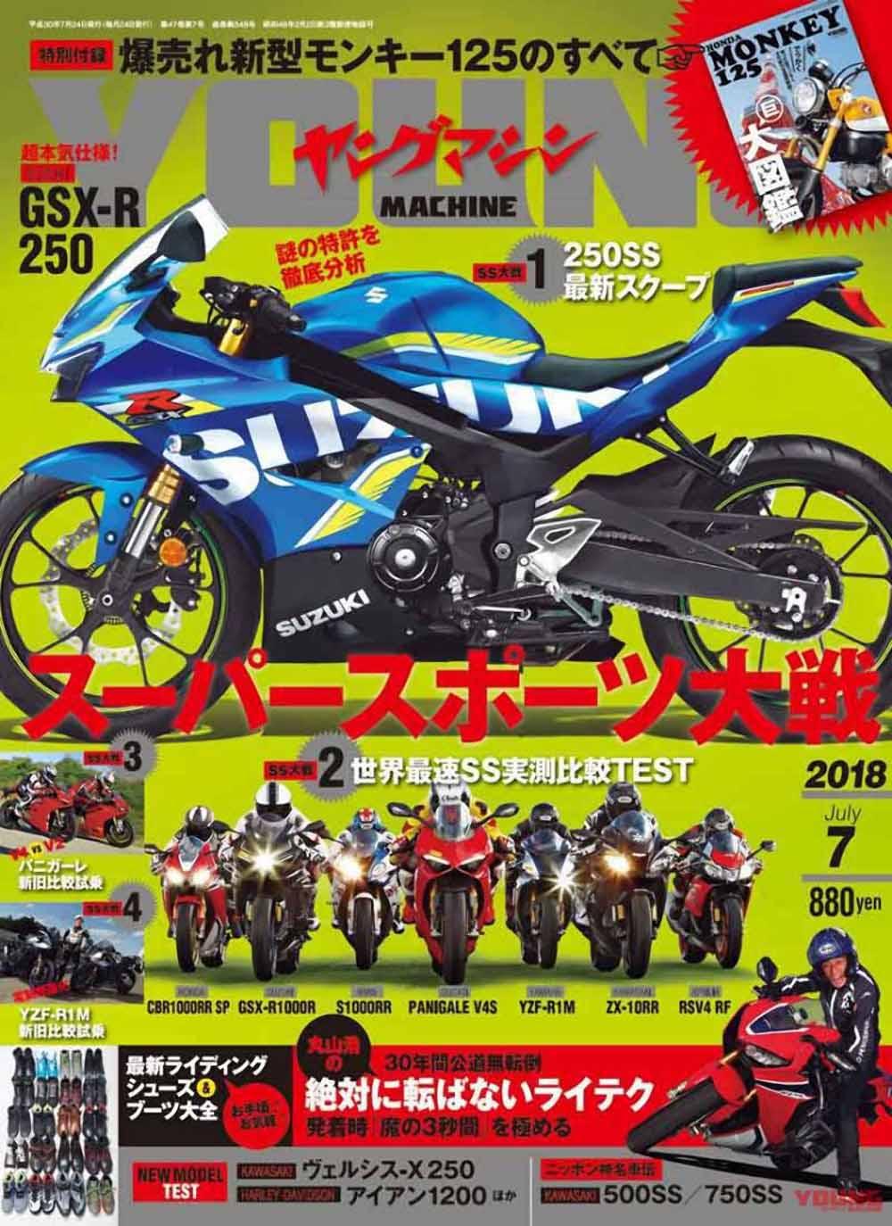 Foto Render Suzuki GSX-R250 YM