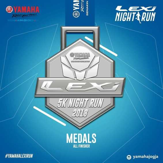 Hadiah Launching Yamaha Lexi Night Run