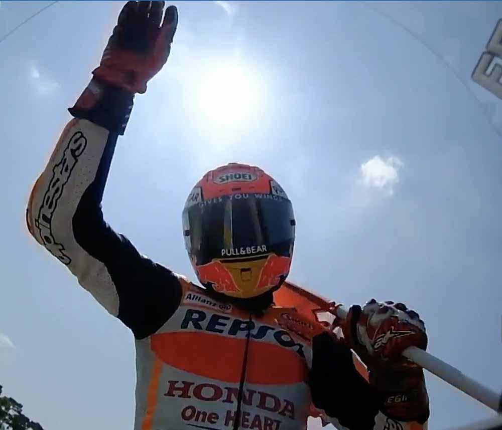 Hasil MotoGP Perancis 2018, Marquez juara