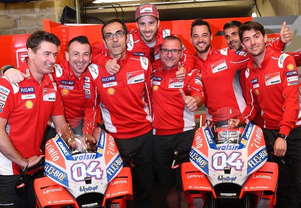 Pembalap MotoGP 2019, Dovizioso perpanjang kontrak