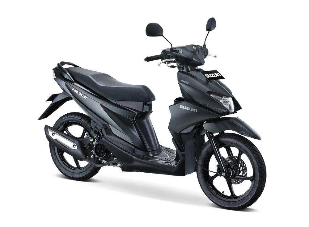 Warna Suzuki NEX II Elegant Premium Solid Black