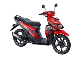 Warna Suzuki NEX II Sporty Runner Stronger Red