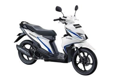 Warna Suzuki NEX II Standard Brilliant White