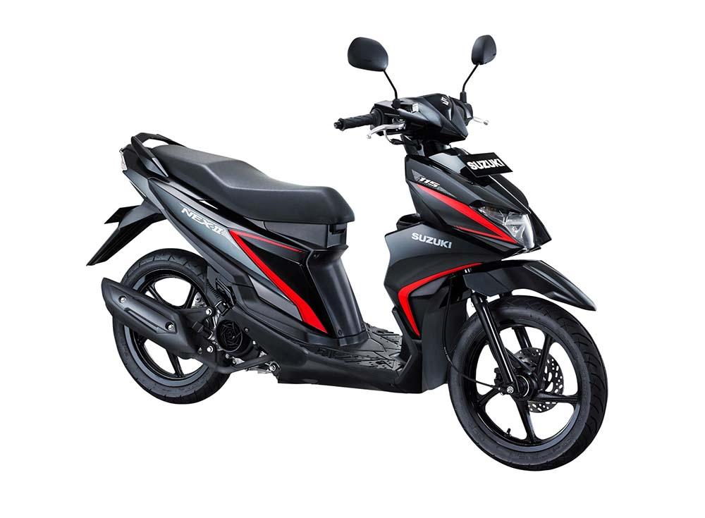 Warna Suzuki NEX II Standard Titan Black
