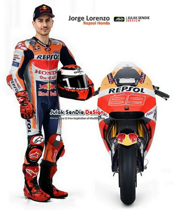 Jorge Lorenzo ke Honda