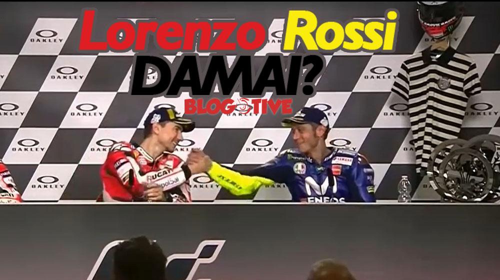 Lorenzo dan Rossi berdamai