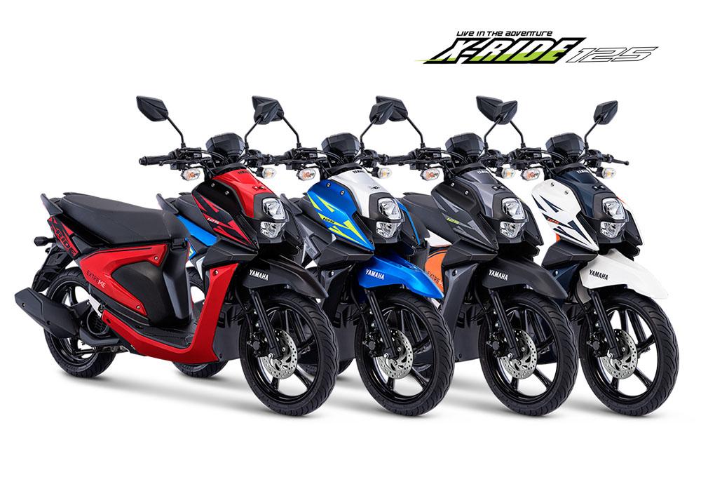 4 Pilihan Warna Yamaha X Ride 2018 Menyesuaikan Karakter