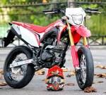 Honda CRF150L Modif Supermoto keren
