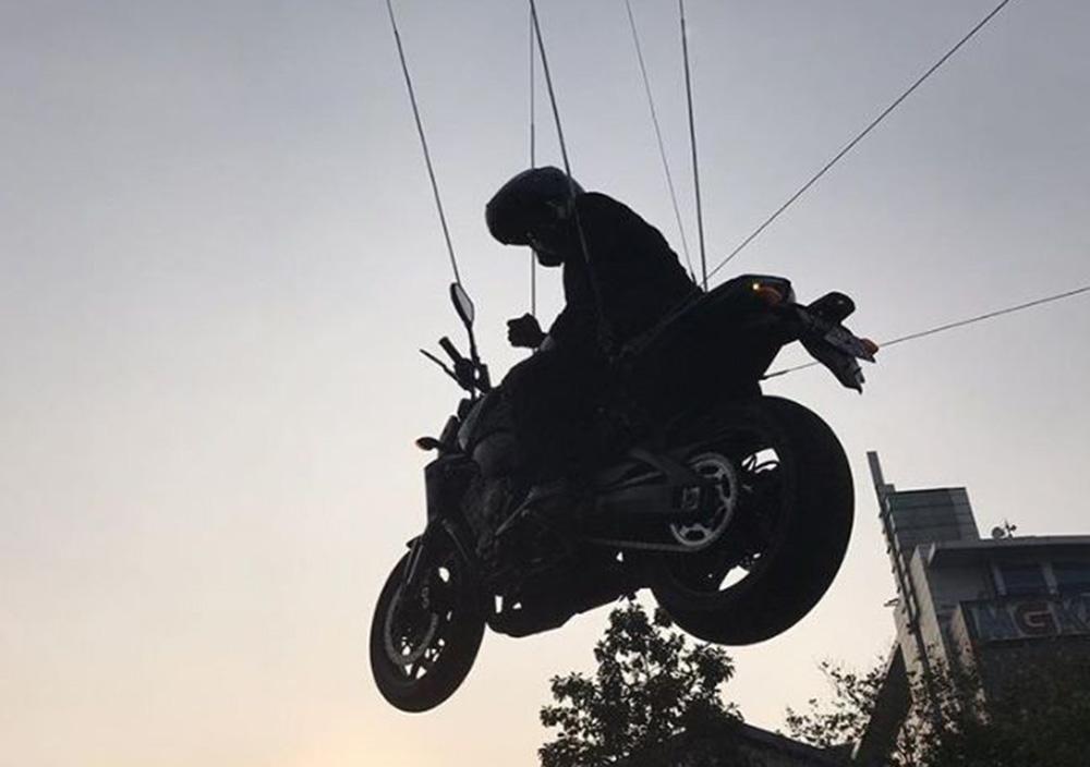 Stuntman Jokowi di Opening Ceremony Asian Games 2018