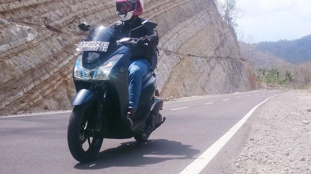 Ergonomi Yamaha Lexi 125