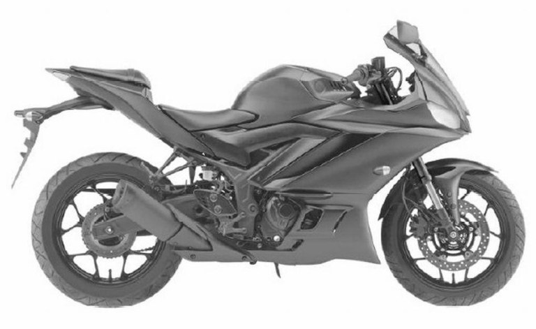 Paten Design Yamaha R25 2019 samping