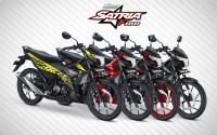 Pilihan Warna Suzuki Satria F150 terbaru
