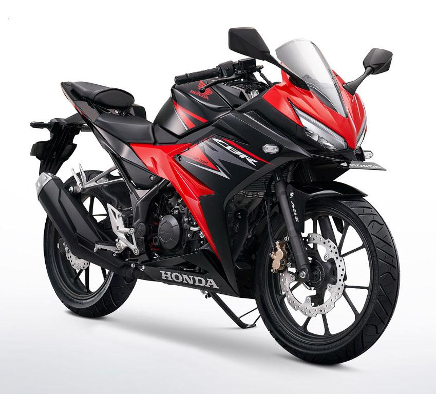 Honda CBR150R facelift Warna Victory Black Red