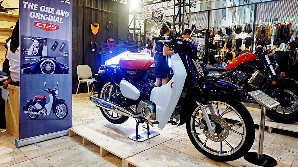 Honda Super Cub C125 di Customfest 2018